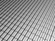 Silver aluminum brick pattern background