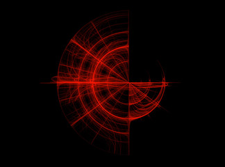 Abstract Fractal Background Design 001