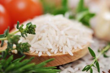 Kochen mit Reis