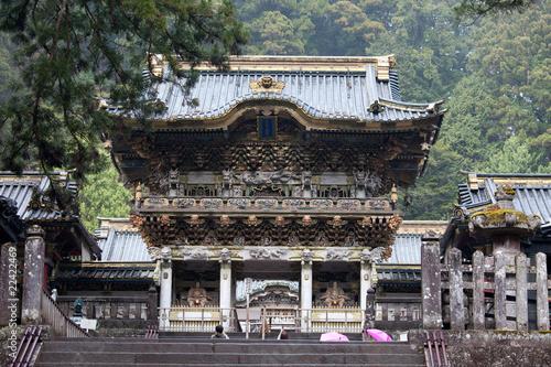 Yomei-mon Toshogu-Schrein in Nikko, Japan