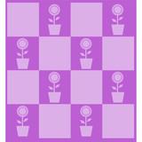 sfondo patchwork lilla poster