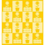sfondo patchwork giallo poster