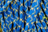 blue climbing rope background