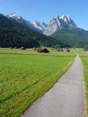 Zugspitze und Alpsoitze
