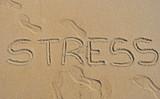 Stress en la playa poster