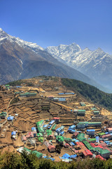 Nepal / Himalaya - Namche Bazaar