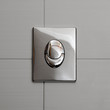 Economic toilet flush knob