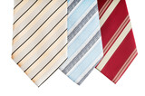 man wear accessory neckties isolated poster