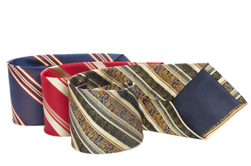 man accessory neckties isolated