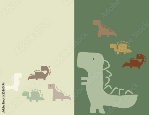 Four Little Dinos