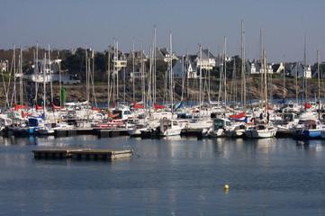 porto turistico di Concarneau, Bretagna