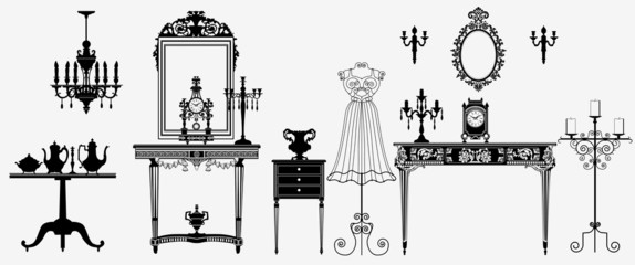 original antique furniture collection