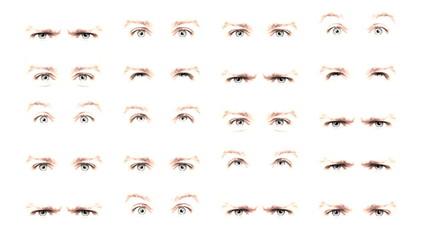 ojos azules en movimiento 03