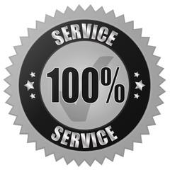 100% SERVICE - grey