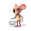 3d Shopper mouse