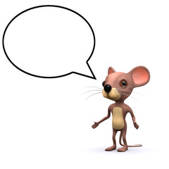 3d Talking mouse