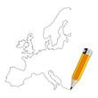 europa disegnata