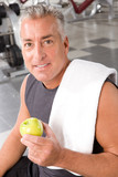 Healthy nutrition is a key to a long life poster