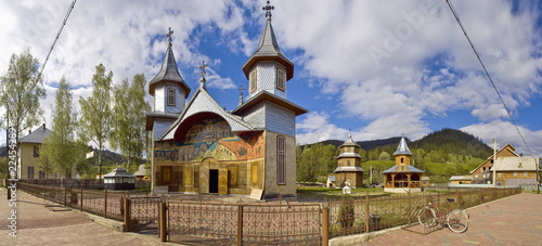 Carlibaba, traditional church of northern Romania