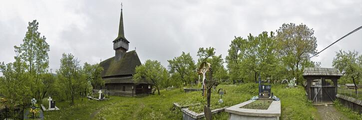 Bubesti Susani, traditional cemetery of northern Romania