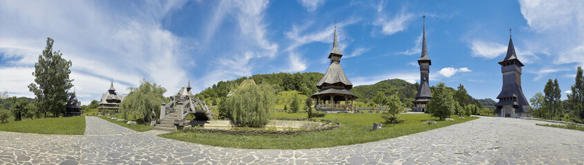Barsana, traditional church of northern Romania