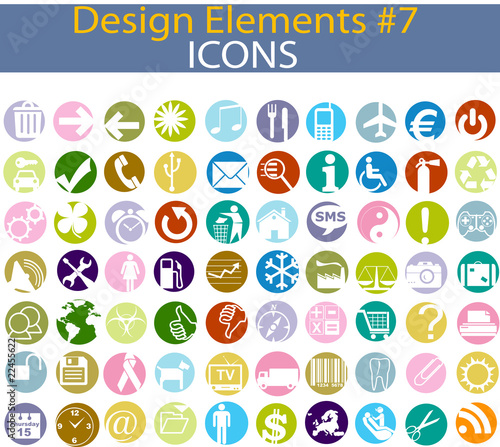 Design elements Icons