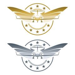 Logo - Fliegerabzeichen