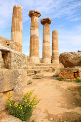 Agrigento - ancient Greek temple