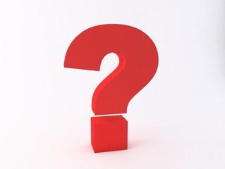 3d High Resolution Question Mark