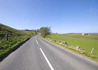 Yorkshire country road