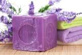 Fototapety lavender soap