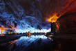 reed flute cave crystal palace guilin guangxi china