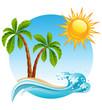 Tropical island - 22465474