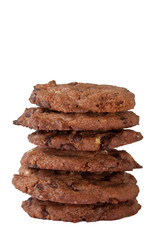 Double Chocolate Cookies Tower