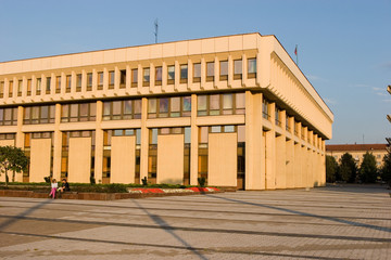 Lithuanian parliament house