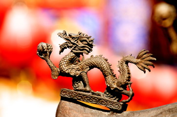 中華街のドラゴン