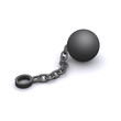 3d Ball and chain
