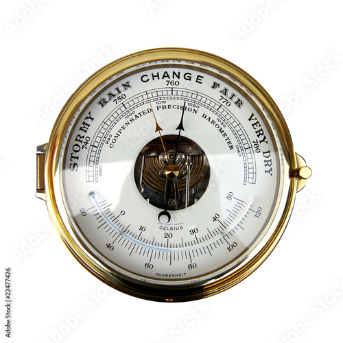 Change Barometer From Top