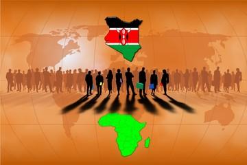 Trabajo en equipo: Kenia