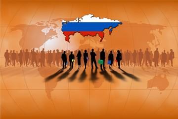 Trabajo en equipo: Rusia