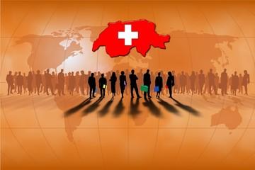 Trabajo en equipo: Suiza