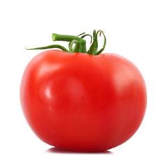 pomodoro intero in fondo bianco