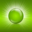 green button, biosiegel, 3d