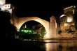 Mostar Bridge - Bosnia and Herzegovina - Night scene