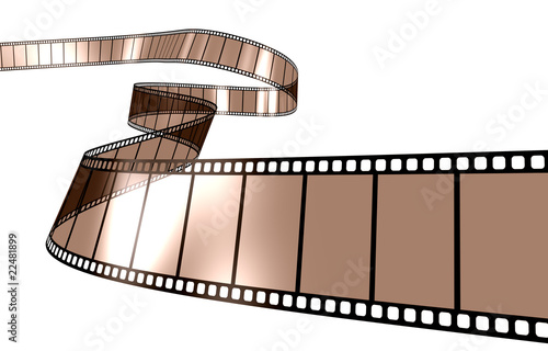Filmstrip in sepia