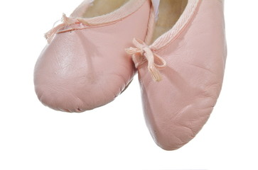 Balletschuhe. Sample text.