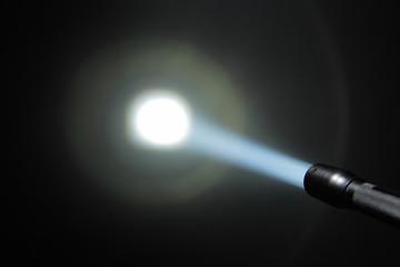 ray of pocket flashlight
