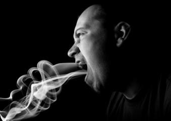 breathe smoke and fire