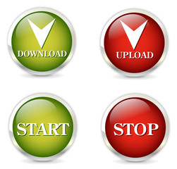 Download, upload icons