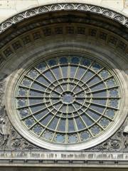 Rosace, Eglise Saint-Augustin, Paris 8e
